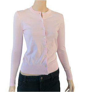 J. CREW NWT Pastel Pink Cardigan XS